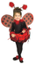 lady costume toddler ladybug brings good