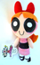 power puff blossom plush doll