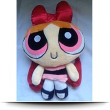 Blossom Power Puff Girls Plush Backpack