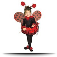 Lady Bug Costume Toddler Girl