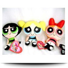 Powerpuff Girls Blossom Buttercup Bubbles
