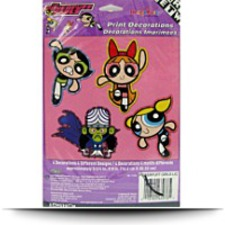 Powerpuff Girls Print Decorations