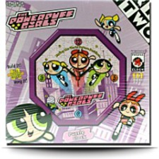 On SalePowerpuff Girls Puzzle Clock