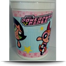 Powerpuff Girls Reusable Plastic Cup