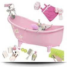 On SaleSlipper Tub With Beauty Products Set