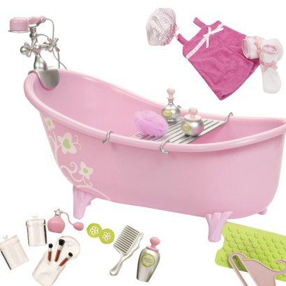 Slipper Tub With Beauty Products Set
