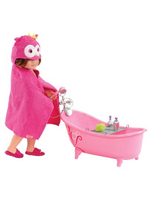 Owl Be Relaxing Bath Tub Set For 18 Poseable