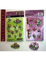 Powerpuff Girls 3D Stickers Licensed